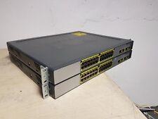 2 x Cisco Catalyst Express 500 Série Commutateur WS-CE500-24PC