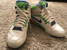 Vintage Circa 1989-1990 Mens Nike Air Solo-Flight Hi-Top Shoes, Size 10
