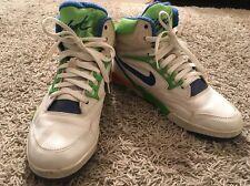 Vintage Circa 1989-1990 Mens Nike Air Solo-Flight Hi-Top Shoes, Size 10