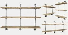 Wandregal Hängeregal Industrie Stil Massiv Metall Küchenregal Regal Vintage Loft