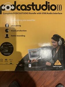 Podcast Setup Kit Youtube Equipment Twitch Streaming Home Recording Studio Mic