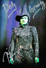 "Nicole Ari Parker ""Defy Gravity"" Wicked Elphaba SIGNED 8x12 Photo COA"