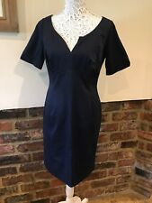 Pepperberry Super Curvy Lovely Ladies Navy Blue Dress Size 10