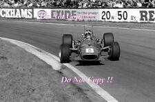Chris Amon Ferrari 312 Oulton Park Gold Cup 1968 Photograph