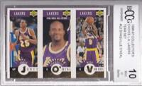 SHAQUILLE O'NEAL VAN EXEL EDDIE JONES 1996-97 COLLECTOR'S CHOICE LAKERS BCCG 10