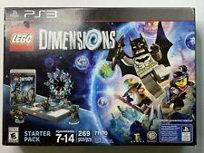 LEGO Dimensions PS3 Starter Pack 71170 Building Toy Batman 269 PCS
