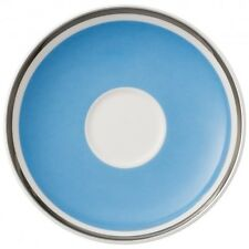 Villeroy & and Boch ANMUT Sky Blue saucer for espresso cup 12cm NEW NWL
