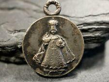 Anhänger Christkind Pilger Medaille Wallfahrt Souvenir De Tongres Religion