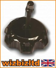 Black Motocross MX Fuel Cap and Breather Pipe Kawasaki KX250 2005-2012 FCX03BK