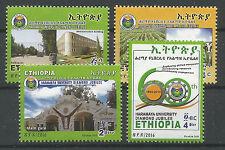 Ethiopia Complete Set of 4 MNH 2016 Haramaya University