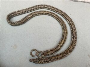 Hanging Chain Rope Chain Belt Ancient Brass Original Hand Crafted Belt 1800s