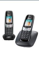 Telephone Gigaset C620 Duo Noir Sans Répondeur