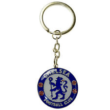 Chelsea FC Metal Crest Keyring Key Ring - Official Merchandise (New)