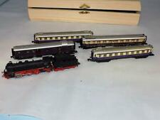 N Scale One Of A Kind Arnold Rheingold Set- BR18 smoke generator, facto-lit cars