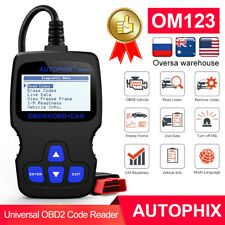 Autophix OM123 Car OBD2 Code Reader Check Engine Fault Light Diagnostic Scanner