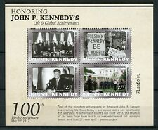 Niuafo'ou 2017 MNH John F Kennedy JFK 100th Birth 4v M/S US Presidents Stamps