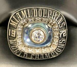 Vintage 1972 Miami Dolphins Ring Size 11 Winning Edge Perfect Season vs Redskins