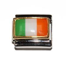 Ireland flag Italian charm - fits 9mm classic Italian Charm bracelets