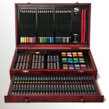 Art 101 142 Piece Wood Art Set A Perfect Set for Coloring or Drawing Convenient