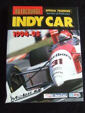 AUTOCOURSE INDY CAR 1994 - 95 2ND YEAR OFFICIAL YEARBOOK HARDBACK
