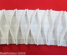 Curtain Fabric Smocking Diamond Header Tape Per Metre