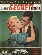 FOTOROMANZI SEGRETI D'AMORE # 22 - APRILE   1964- RARO
