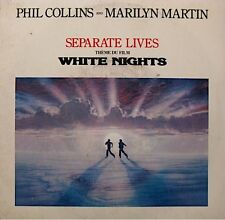 PHIL COLLINS/MARILYN MARTIN separate lives/i don't wanna know BO WHITE NIGHTS SP