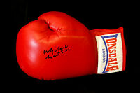 New Michael Watson Signed 14oz Red Lonsdale Autograph  Boxing Glove