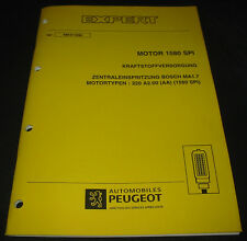 Werkstatthandbuch Peugeot Expert Motor 1580 SPI Zentraleinspritzung Bosch MA1.7