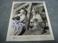 AUTHENTIC LAWMAN **PETER BROWN** AS JOHNNY MCKAY HAND SIGNED 8X10 PHOTO COA