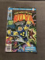 Nova #1 1976 First Appearance of Nova Richard Rider Marvel Comic 1st Series VG/F