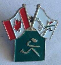 Edmonton 2001 World Athletics Canada Pin Badge Rare Vintage (F3)