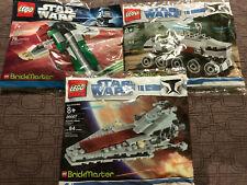 LEGO 20006 20007 20019 STAR WARS BRICKMASTER - NEW POLYBAG