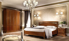 Luxe Chambre à coucher Trévise Cerisier meuble design d'Italie classique meuble