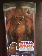 """Star Wars Forces of Destiny ~ 11"""" ELECTRONIC ROARING CHEWBACCA FIGURE  Free Ship"""
