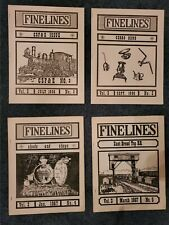 Finelines -- 4 issues 1966, 1967
