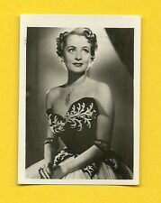 Irene Von Meyendorff Vintage 1953 Movie Film Star Cigarette Card from Germany