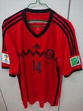 Adidas 2014 World Cup Mexico Hernandez Away Jersey
