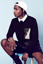 "ASAP ROCKY Music Star Silk Cloth Poster 20 x 13""  Decor 50"