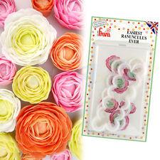 FMM Sugarcraft-la más fácil Ranunculus siempre azúcar Flor Cortador