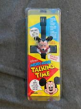 New listing Disney's Mickey Mouse Talking Time Toy Watch