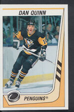 Panini 1989-1990 NHL Ice Hockey Sticker No 314 - Dan Quinn - Penguins