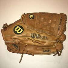"Wilson A9564 Limited Team Series Edition Leather 12 1/2"" Baseball Glove RHT"