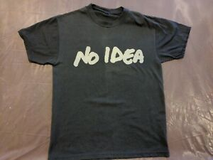 No Idea Records Shirt Hot Water Music Against Me! SMALL Planes Mistaken For...