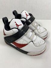 364759 164 Jordan Baby Shoes Red White Black Size 6c