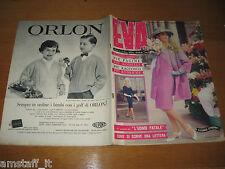 EVA=1959/17=RIVISTA MAGAZINE MODA DONNA WOMAN CUCINA ARREDAMENTO=