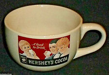 Hershey's Cocoa Mug Cup Oversize Coffee Soup Advertising Vtg Hersheys