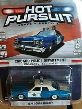Greenlight  Hot Pursuit 1974 Dodge Monaco Chicago Illinois Police