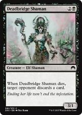 MTG Magic Origins 4x 4 x Deadbridge Shaman  x4  ~ MINT ~ UNPLAYED Common M16