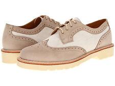 NIB Dr. Martens Carrington Brogue Shoe Men's Size USA 12 UK 11 Beige Kaya $160